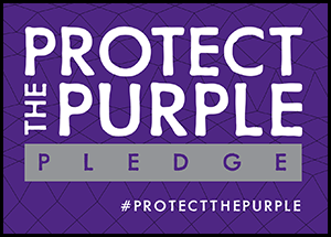Pledge to Protect the Purple
